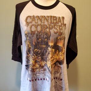 Cannibal Corpse A Skeletal Domain 3/4 Sleeve Tee